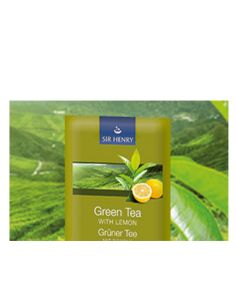 Sir Henry Tea - Green Tea with Lemon 25 x 1,75gr