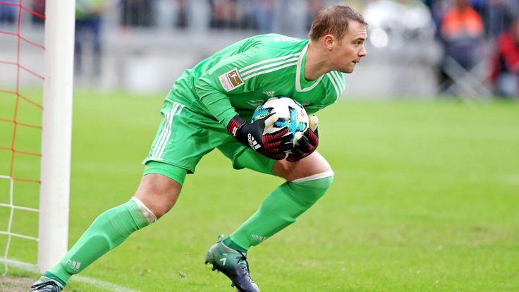 Heute OP-Entscheidung - Neuer drohen acht Wochen Pause - Bundesliga Saison 2016/17 - Bild.de