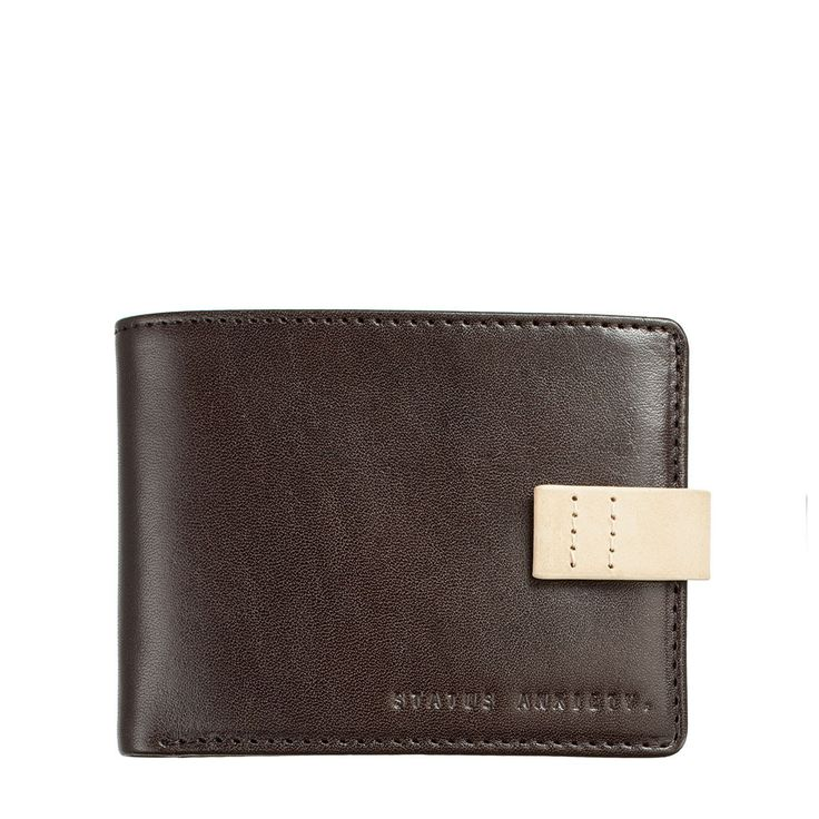 Status Anxiety - Josiah Wallet Chocolate Inc Free Australia Wide Delivery !