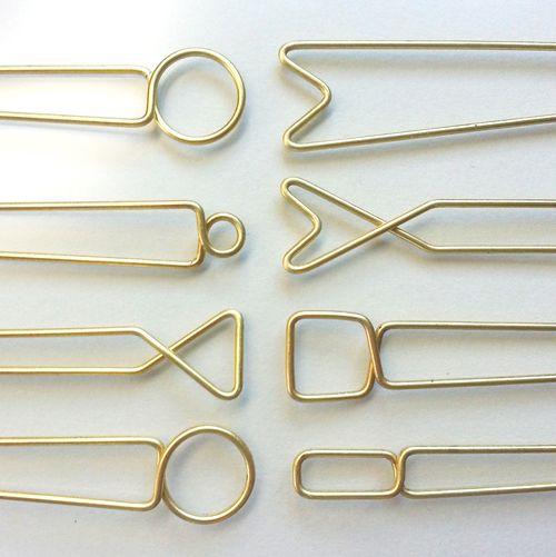 // Hellbent brass hairpins