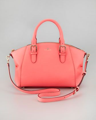 charlotte street small sloan tote bag, coral by kate spade new york at Neiman Marcus.