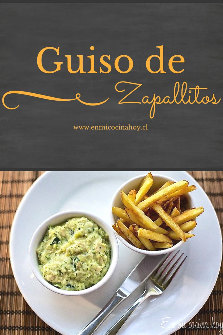 El guiso de zapallo italiano es un plato muy popular en Chile, donde es una verdura muy barata. Esta versión es rápida y se hace en olla, no al horno.
