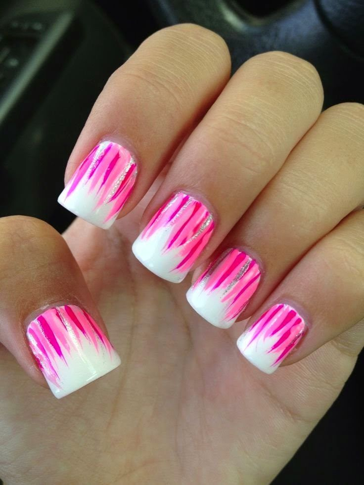 love this style simple and elegant for any occassion browse for more nail arts - Nail Design Ideas