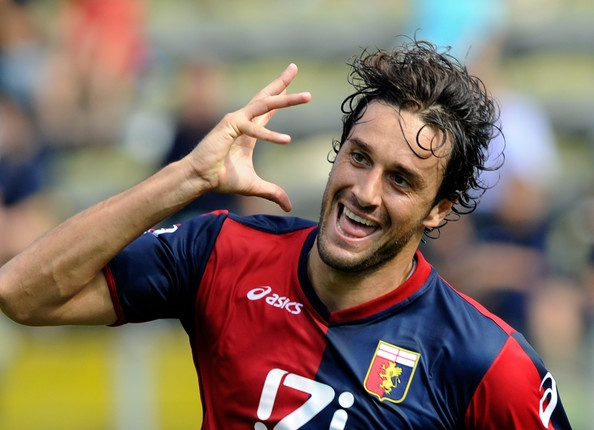 ~ Luca Toni on Genoa with his iconic goal celebration ~