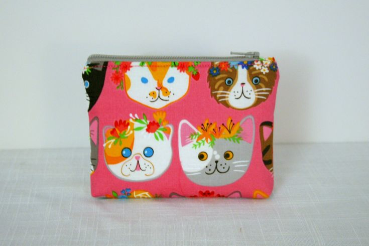 Excited to share the latest addition to my #etsy shop: Cats Coin Purse, Coin Bag, Change Purse, Small Cosmetic Bag, Purse Accessorie, Cats Coin Bag http://etsy.me/2mYD1qE #bagsandpurses #pouchescoins #giftsforher #giftsforhim #accessorypouch #coinpurse #coinbag #gadget