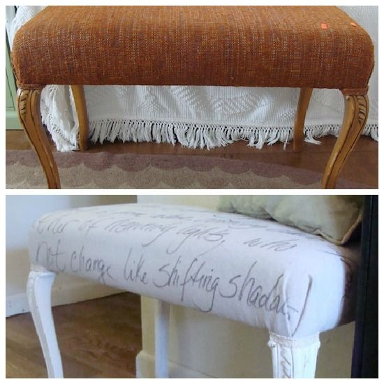 One Of My Favorite Thrift Store Furniture Transformations Of All Time Is  This Bench Made From