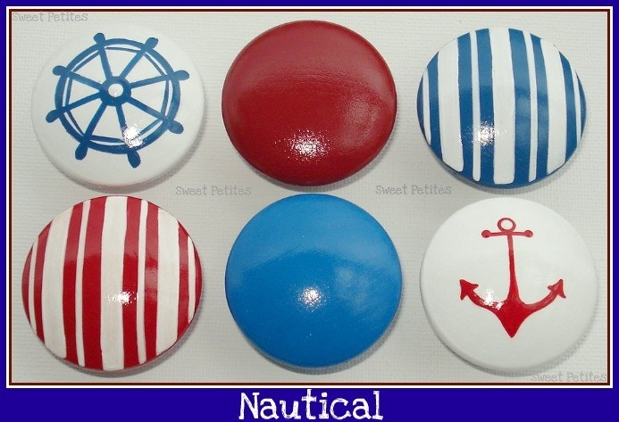 Nautical Nursery: Dresser Knobs
