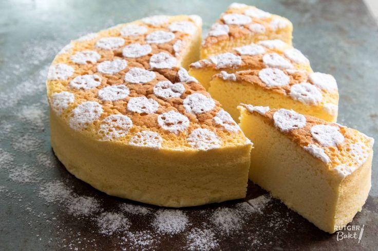 Japanse cheesecake – recept - Rutger Bakt