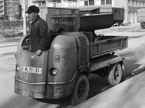 Multicar M21. Small and specialized transporters of East Germany. #DDR