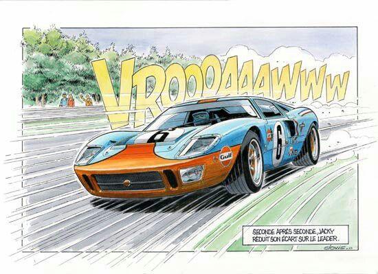 Ford GT 40 - 1969 - 24 Stunden von Le Mans