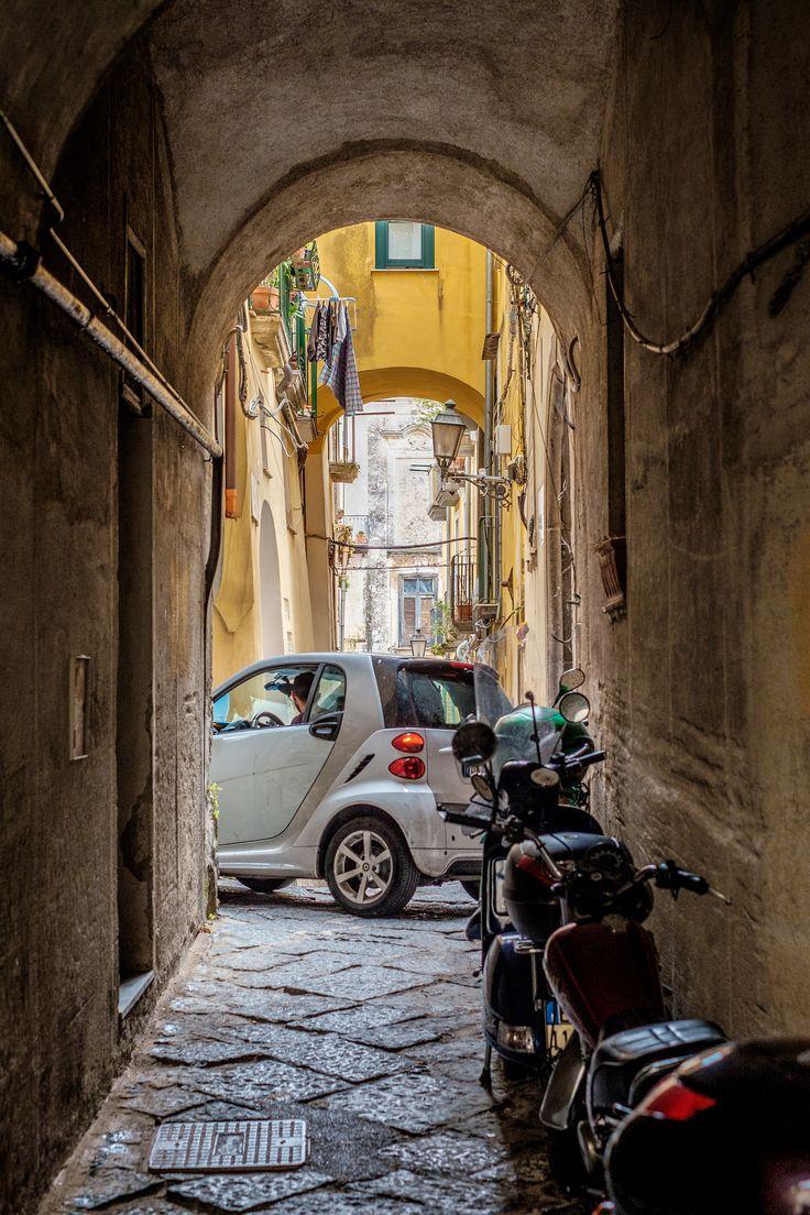Scorcio del centro storico di #Salerno