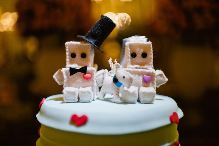 decoração de casamento – azul   rosa   vermelho