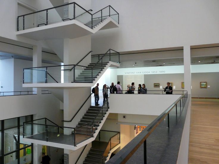 Interior of the Van Gogh Museum, Amsterdam