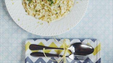 Fenyklové risotto s ricottou