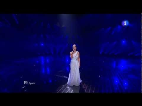 Eurovision 2012 HD FINAL - (spain) Pastora Soler - Quédate Conmigo 26/05/2012 - YouTube