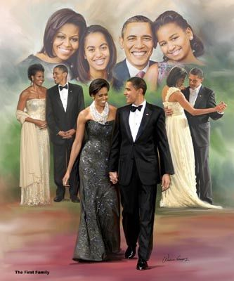 The First Family Wishum Gregory Fine Art Print Poster