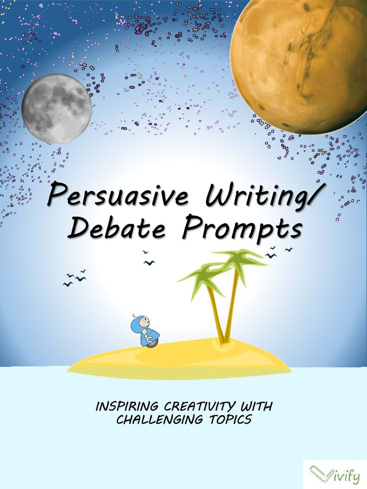 argument writing activities for students