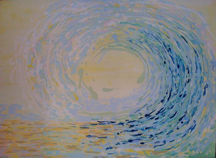 Viaggio Oil on Paper 60x90cm SOLD