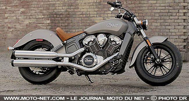 Nouveauté moto Indian : Scout toujours ! - INDIAN Nouveautés 2015 moto