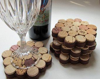 Coaster di sughero del vino a nido d