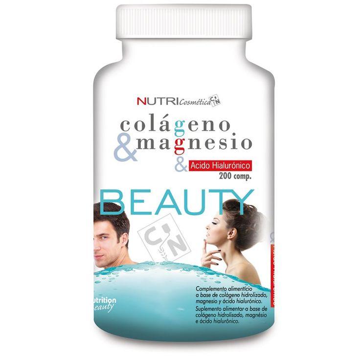 Collagen & Magnesio  El colágeno con magnesio te resultará de gran ayuda para mejorar tu salud articular y tendinosa, así como el aspecto de la piel, el cabello y las uñas.