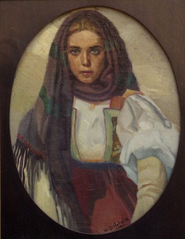 Mario Delitala - Donna di Orani, 1930