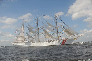 Coast Guard Cutter Eagle by U.S. Coast Guard, via Flickr -- I want to tour her!