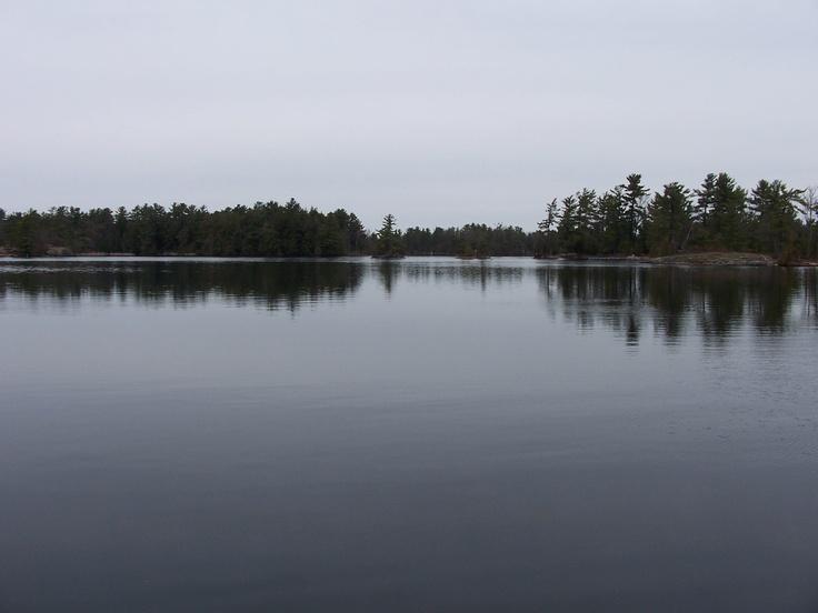 Lovesick Lake, Burleigh Falls, Ontario Canada