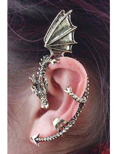 Dragon Ear Cuff Earring | Fashion Earrings | Jewelery | StringsAndMe