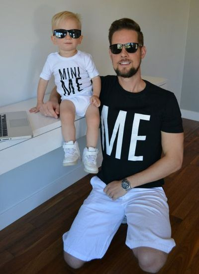 Mini Me: Tal pai, tal filho!