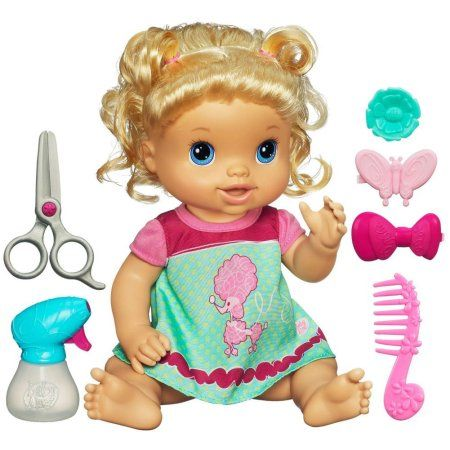 Baby Alive Beautiful Now Baby Doll Style Her Hair Blond