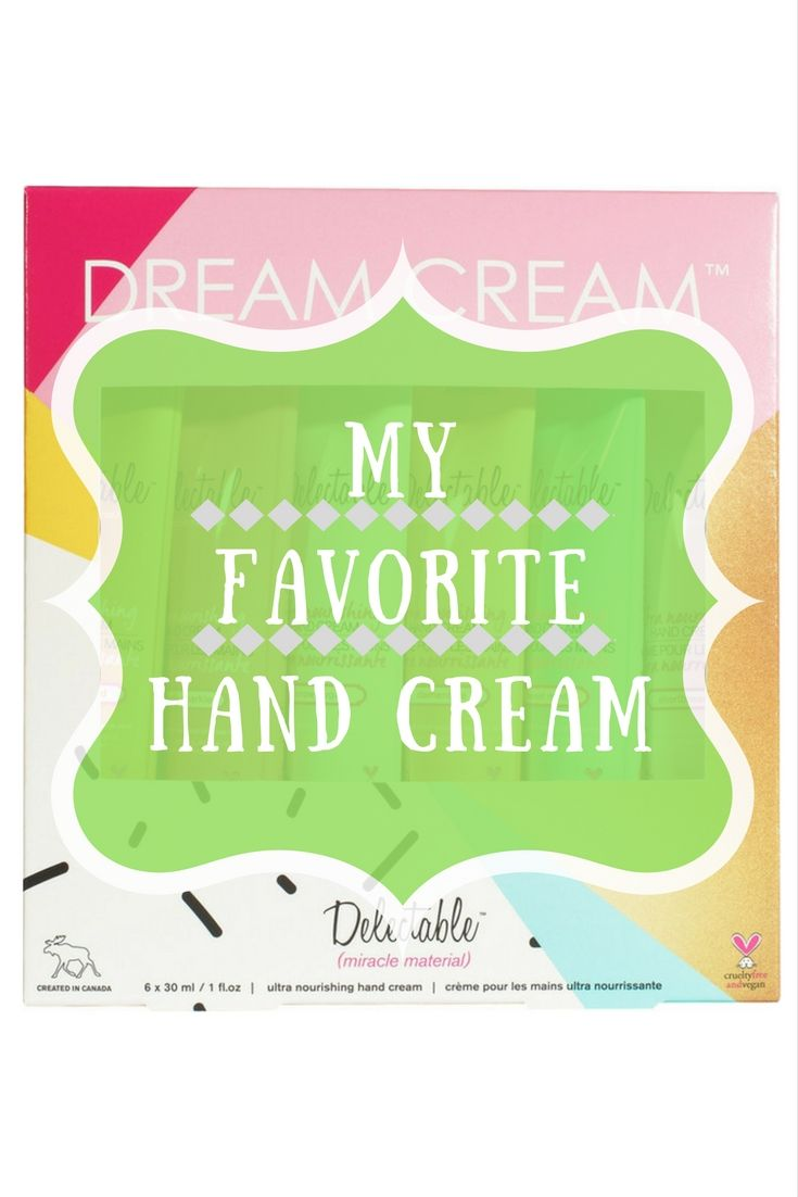 """This is by far my favorite hand cream! This is the new set with all new scents like """"Sweet Mint"""", """"Clementine"""" and """"Shortbread"""". Treat yourself to Delectables ultra nourishing Dream Cream Hand Cream Gift Set in six limited edition delectable flavours. Packed full of goodness and enriched with shea butter, coconut oil, and aloe vera to smooth, nourish, and rejuvenate hands and cuticles. #Gift #Beauty #Afflink #haircaregiftsets"""