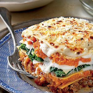 Pumpkin-and-Turnip Green Lasagna