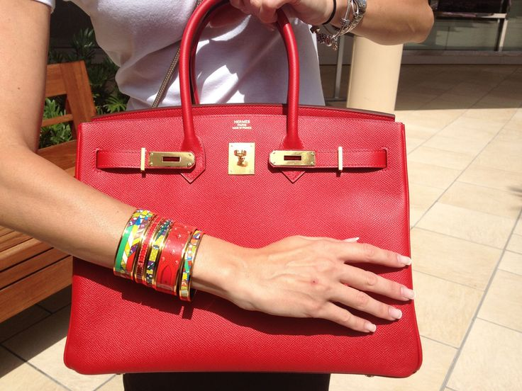 HERMES BIRKIN 35 ROUGE CASAQUE EPSOM LEATHER | Handbags ...