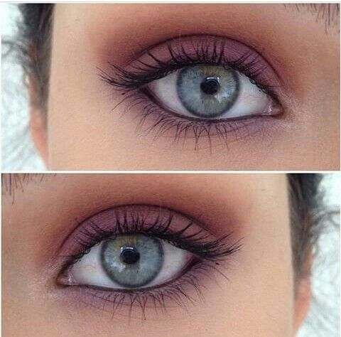 Simple matte eyeshadow
