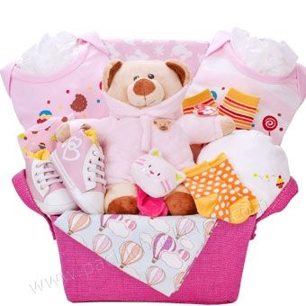 Baby gift baskets Canada - Baby girl gifts Canada