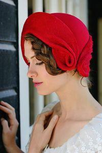 Fabulous hat by Behida Dolic.