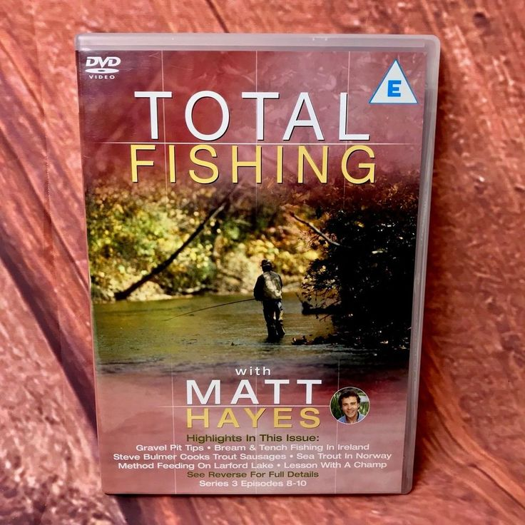 Total Fishing Matt Hayes Series 3 Episodes 8-10 Carp Bream Anglers Paradise Norw