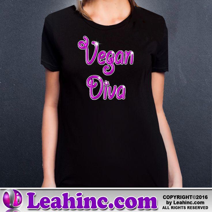 Vegan, Vegetarian, Causes, Men's, Ladies, Shirts, Tees, Vegan Diva