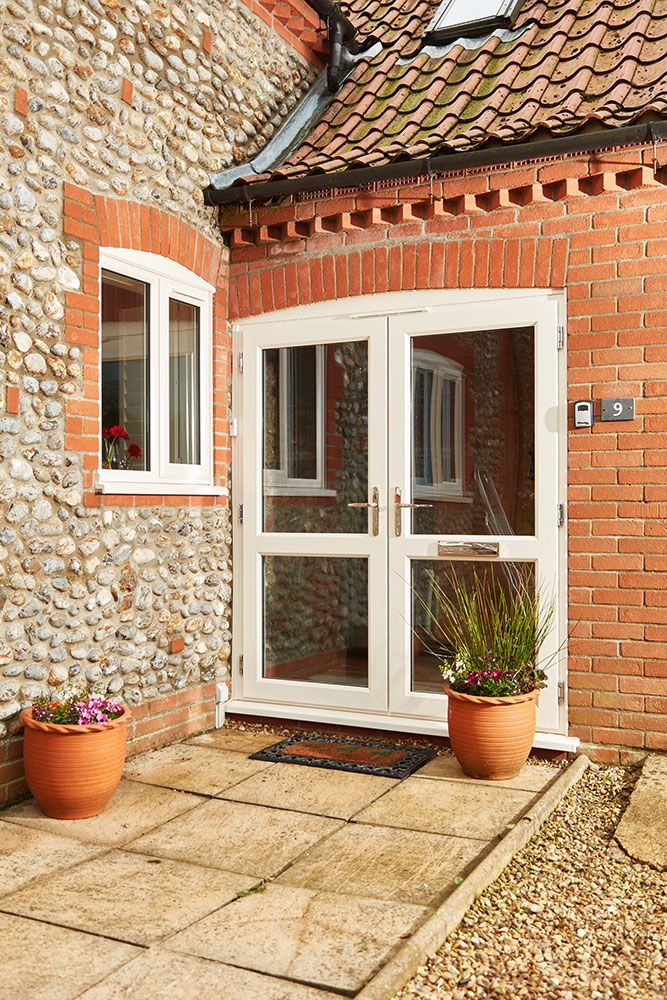1000 ideas about upvc french doors on pinterest door for Cream french doors