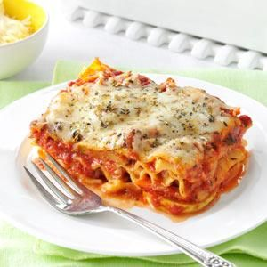 Vegetable Lasagna---Since I don't like ricotta or cottage cheese, I will substitute and Italian blend of cheeses for a delicious result.