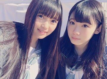 #上村莉菜 #小池美波 #欅坂46 #uemura_rina #koike_minami #keyakizaka46