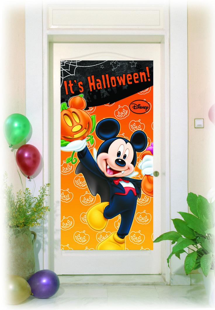 Mikke Mus Halloween dørbanner http://www.multitrend.no/Halloween-dorbannere-1-stk-Mikke-Mus/cat-p/c1000078/p10503372