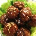 カリっとふわっと肉団子の甘酢あん by ぷるベリー