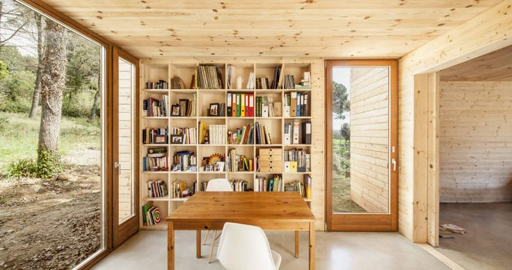Casa GG : Modern study/office by Alventosa Morell Arquitectes