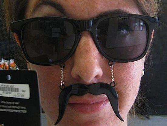 Mustache Glasses,