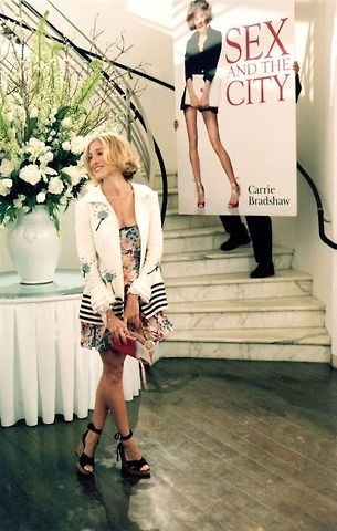 Carrie Bradshaw's book party where Jack Burger shows up