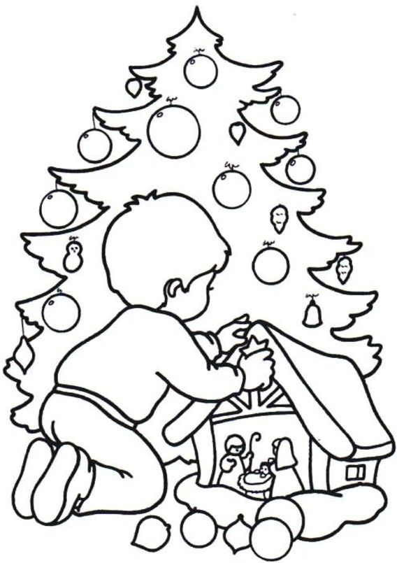 christmas coloring pages for kids | Printable Christmas Coloring Pages | Coloring Lab