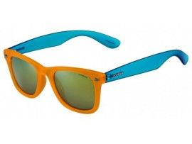 Ochelari de soare unisex Polaroid P8400D Fluo Orange/Fluo Blue