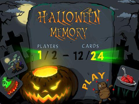 Halloween Memory HD iPad Screenshot 1 found on AnyKey.Com
